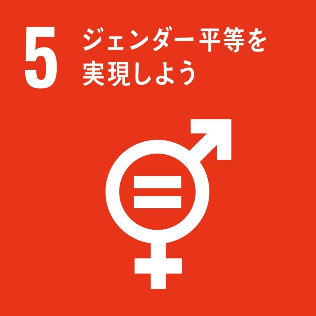 SDGsジェンダー平等を達成し、すべての女性及び女児の能力強化を行う 画像